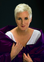 Lauren Flanigan, world famous soprano starring in Flight of the Ibis